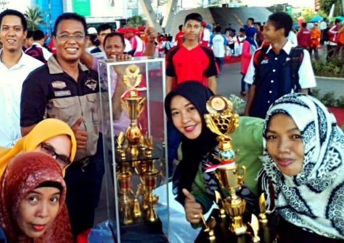 Kecamatan Rappocini Juara Umum pada Porkot Makassar 2016