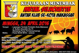 Kejuaraan Menembak Antar Klub Se-Kota Makassar 2016
