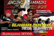 Kejuaraan Menembak Metal Silhouette Anging Mamiri Open 2016 Kota Makassar