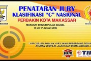 Penataran Juri Lisensi C Nasional PERBAKIN Kota Makassar 2016