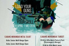 Kejuaraan Menembak UNHAS Air Guns 2016